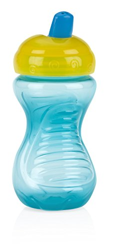 Nuby 2 Piece Gripper Free Flow Cup, 6 Month Plus, 10 Ounce