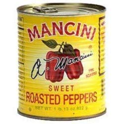 Mancini Roasted Red Peppers - 48 12 per Limited price sale low-pricing cans oz. can case