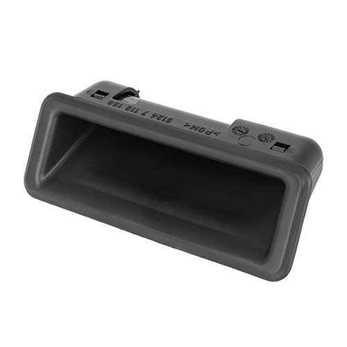 X AUTOHAUX Car Trunk Lid Lock Push Button Release Handle Switch 51247118158 for BMW E82 E90 E91 E92 E93 E60 E84 E70 E71