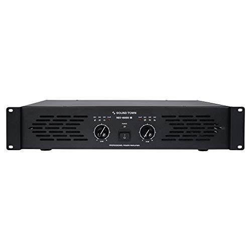Lowest Price! Sound Town Professional Dual-Channel, 2 x 1500W at 4-ohm, 6000W Peak Output Power Ampl...