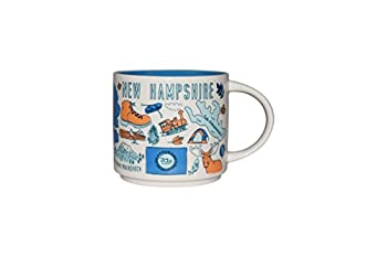 Starbucks Been There Series Collectible Coffee Mug  New Hampshire