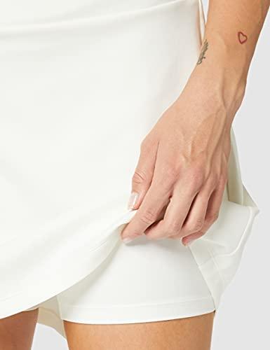 """Nike W Nk PWR Skirt KT 17"""" Falda pantalón, Mujer, Sail/Sail/Sail/Sail, M"""