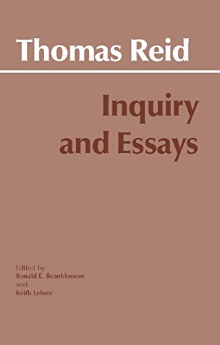 Inquiry and Essays (Hackett Classics)