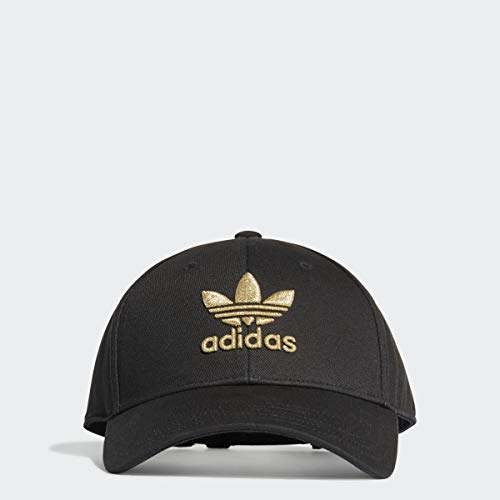 adidas Adicolor Gold Baseball Cap Black Size OSFC