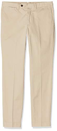 Hackett London Kensington Slim Chino Pantalones, Beige (Oatmeal 8hw), W48 (Talla del fabricante: 38) para Hombre
