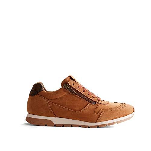 NoGRZ E.Blore Damen Leder Sneakers | Cognac EU 39