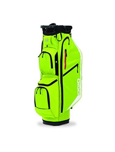 OGIO Golf Bags 2020 Fuse 14 Cartbag Glow Sulphur, Glühen Schwefel, One Size