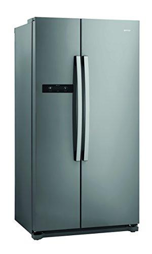 Gorenje NRS 9182 BX Side-by-Side / A++ / 177 cm / 374 kWh/Jahr / 373 L Kühlteil / 204 L Gefrierteil / Multi Flow 360 Grad Kühlsystem / edelstahl
