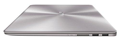 ASUS ZenBook UX3410UA 90NB0DL1-M04440 Ultrabook (35,6 cm 14 Zoll FHD Matt, Intel Core i5-7200U, 8GB RAM, 256GB SSD, 1TB HDD, Intel HD Graphics, Win 10) grau