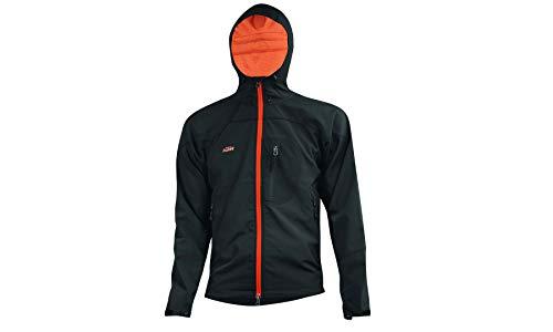 KTM Factory Team Softshell Jacke - Herren inkl. Schlüsselband + Bisomo Sticker, Größe:XL