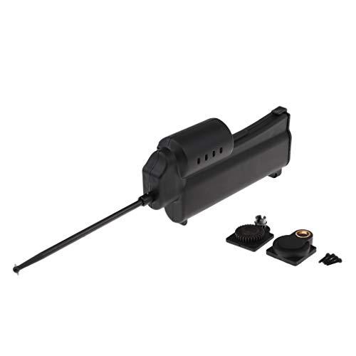 B Blesiya Elektrische Motor Power Starter für 1: 8 1:10 RC Car Auto, Schwarz, aus Kunststoff