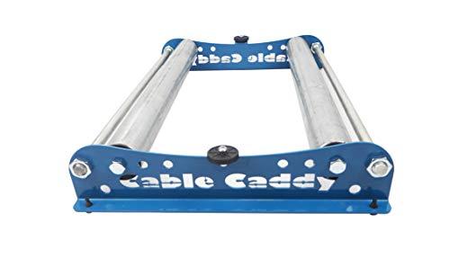 Kabelabroller, Kabelabwickler: Cable Caddy für Rollen bis 510 mm - verschiedene Farben verfügbar - (Blau)