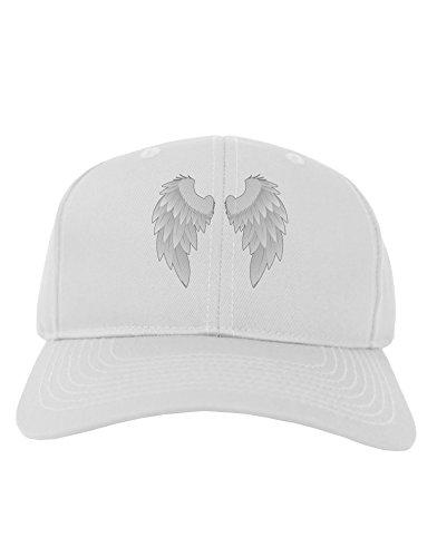 TOOLOUD Epic Angel Wings Design Adult Baseball Cap Hat - White