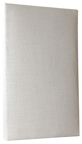ATS Acoustic Panel 24x36x2 Inches, Beveled Edge, in Ivory