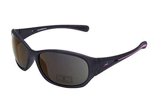 Gamswild WS2424 - Gafas de sol para mujer, deportivas, para esquí, bicicleta, color negro y rosa, marrón y verde, Rosa., Talla única