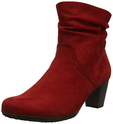 Gabor Shoes Damen Basic Stiefeletten, Rot (Cherry 45), 39 EU