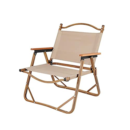 Folding Camping Chair, Compact Camping Chair, Comfortable 600D polyester oxford cloth Padded Seat Bottle Holder Heavy Duty Max load: 120kg, Outdoor Foldable Chair for Outdoor, Camping, Picnic, Hiking