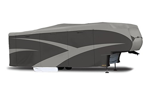 ADCO 52255 Designer Series SFS Aqua Shed 5th Wheel RV Cover - 31'1' - 34' ,Gray