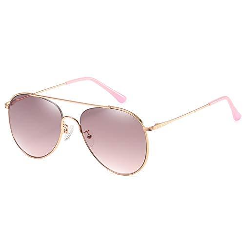 XYQS 2021 Nuevas Gafas de Sol de Lentes de Nylon Hombres y Mujeres con Coloridos Gafas de Conductor de Metal Aviator Sapoad Mirror (Color : 1)