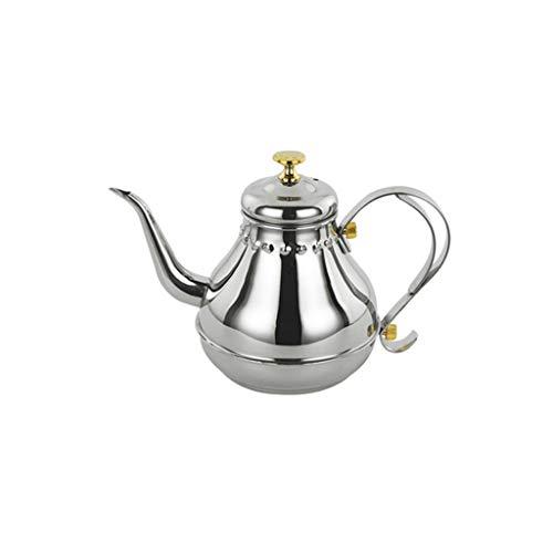 XJJZS Acero Inoxidable Hervidor El Engrosamiento Cocina de inducción Filtro Especial del Juego de té de la Tetera Tetera de ebullición del Agua