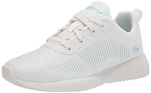 Skechers Damen Bobs Squad-Summer Sneak Sneaker, gebrochenes weiß, 38.5 EU