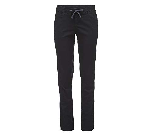 Black Diamond W Credo Pants Schwarz, Damen Hose, Größe 10 - Farbe Black