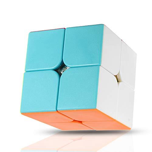 DyNamic Verbazingwekkende Kubus 2X2 Magische Kubus Anti Stress Volwassenen Kinderen Puzzel Speelgoed Levendige Kleur Vierkant Magische Kubus Puzzel Wetenschap Onderwijs Speelgoed Cadeau