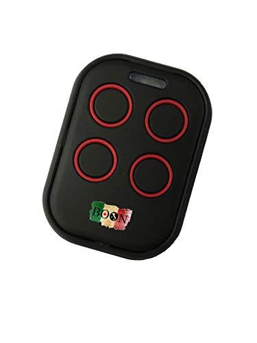 Telecomando Universale Autoapprendente per Cancelli automatici Garage 433mhz - fix code (ROSSO)