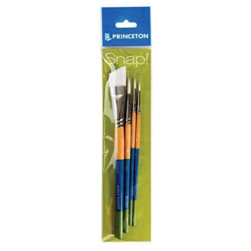 Princeton Snap Paintbrush Set, White