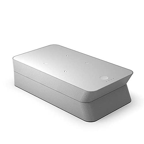Pkfinrd Cargador inalámbrico ULTRAVIOLETA multifuncional caja de esterilización UV 10W cargador rápido estación de muelle portátil teléfono móvil cosméticos lámpara de desinfección ultravioleta