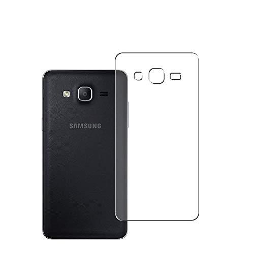Vaxson 2 Stück Rückseite Schutzfolie, kompatibel mit Samsung Galaxy On5 2015, Backcover Skin TPU Folie [nicht Panzerglas/nicht Front Bildschirmschutzfolie]