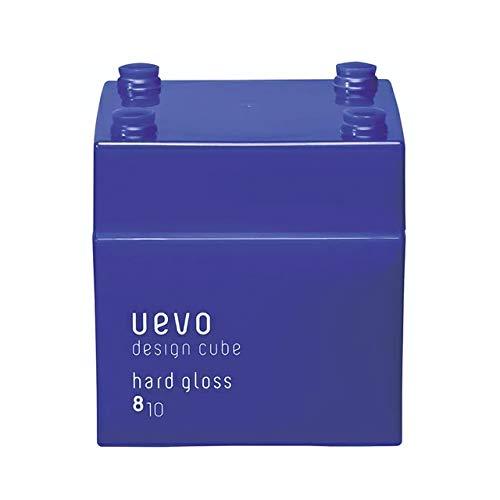 ウェーボ デザインキューブ (uevo design cube) ハードグロス 80g ヘアワックス 80グラム (x 1)