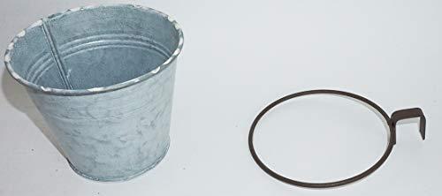 Novaliv Pflanztopf zum Einhängen Ringhalter für Europlatten Hängetopf (1, 12 cm) - 5