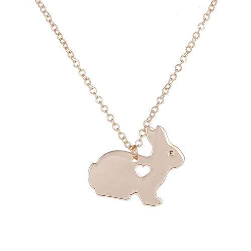 CLEARNICE Animal Collar De Pascua Cesta Mascota Colgante Encanto Joyería De Moda para Los Hombres Mujeres Regalos De Pascua