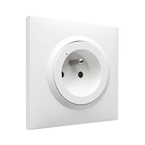 Toma dooxie with Netatmo con placa (16A blanco) | Apple Homekit