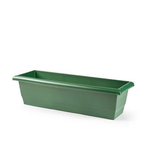 Jardinera plastico 60 cm (Verde)