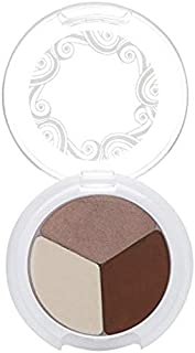 Pacifica Beauty Super Powder Supernatural Eye Shadow Trio with Stone, Cold, Fox, 0. 1 Ounce