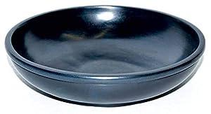 """AllYourNeedz. Black Stone Scrying Bowl 6"""""""