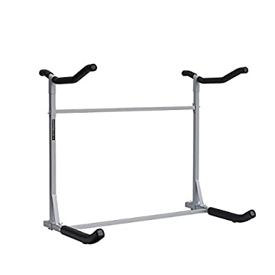 Freestanding Dual Storage Rack  review