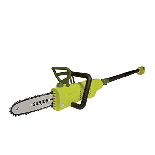 Sun Joe SWJ805E 6 Amp 2-in-1 Convertible Electric Telescoping Pole Chain Saw