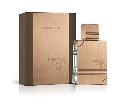 Al Haramain Perfumes Amber Oud EDP Spray,,, paquete de 1