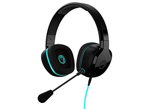 Nacon - PCGH-100ST Auriculares Con Micrófono, Control Remoto, Función Micro Mute Y Volumen (PS4, PC, Mac, Xbox One, Smartphones)