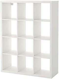 Ikea ' New KALLAX Shelf Unit, Black-Brown (White, 44 1/8x57 7/8)