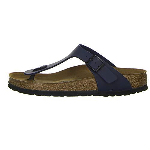 BIRKENSTOCK 0143621 Chaussures Tongs Unisexe Gizeh Taille 44 Bleu