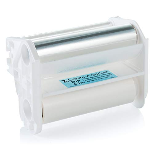 Xyron Repositionable Adhesive Refill for Create-A-Sticker, 5' x 18', Refill Cartridge (AT1506-18)