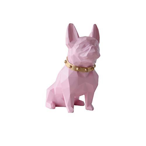 Hucha Geometría nórdica Piggy Bank Lucky Dog  Resina Moneda Banco Banco Banco Creativo Decoración para el hogar Niño Regalo Papel Dinero Desplazamiento de Desplazamiento Caja de Ahorro de Dinero