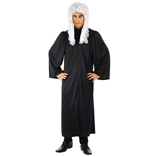 Fun Shack Schwarz Richterrobe Kostüm für Damen und Herren - Einheitsgröße
