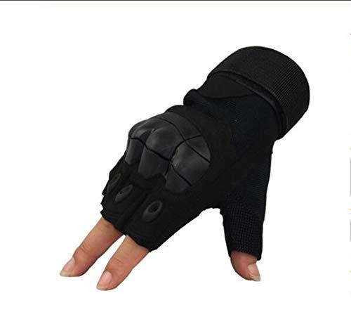 · GUANTI HEAVY DUTY per proteggere le mani da abrasioni e graffi in sport e attività che richiedono protezione e destrezza, si adattano perfettamente al palmo e a tutte le dita. . avvolgere strettamente intorno al polso con velcro regolabile, non rig...