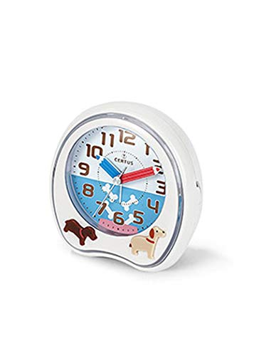Certus–Reloj Despertador Infantil–h061m032–Cuarzo analógico–Agujas Lápices–Perros