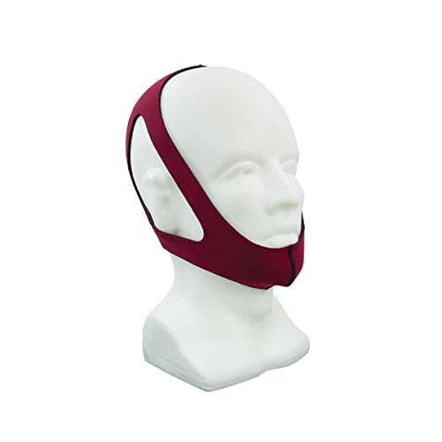 Roscoe Medical - 3 Point Chin Strap, Adjustable, Ruby Red - CM